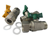 Water Heater T/H Ball Valve Kit (20mm)