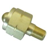 "CGA555 x 1/4"" Cylinder Valve Connection"