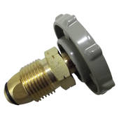 "POL to 1/4"" Male BSP with Handwheel Kit"
