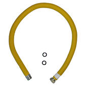 "3/4"" Flexi Tube - Male BSPTM / Female Convex Swivel"