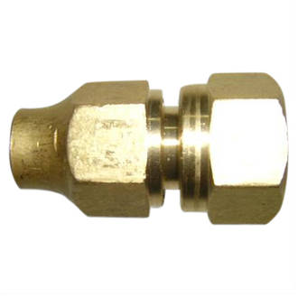 "1/2"" Flare to 1/2"" female connector & nut"