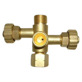Companion duel outlet valve
