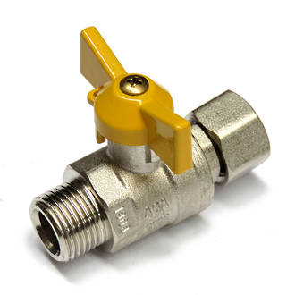 Swivel / Male Gas Ball Valve