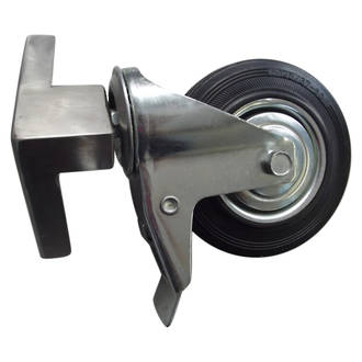 Mount Forge Right Wheel, Brake and Bracket