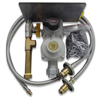 8kg Auto change Regulator Kit