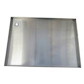 Providore BBQ Stainless Steel plate (720mm x 515mm)