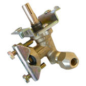 Barbecue Back Burner Valve