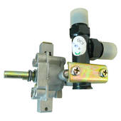 Right Side Burner Barbecue Valve