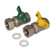 Swivel/F Water / Gas T/H Ball Valve Kit