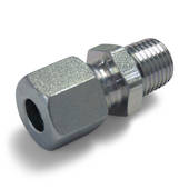 Steel Male Connector