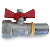 Ezi-Pex Ball Valve with Crimp