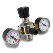CO2 Regulator Food Grade Dual Gauge