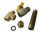 "1/2"" Drain Kit with F/F Ball Valve"