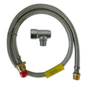 MBSP cooker hose kit plus bayonet 1200mm x 1/2""